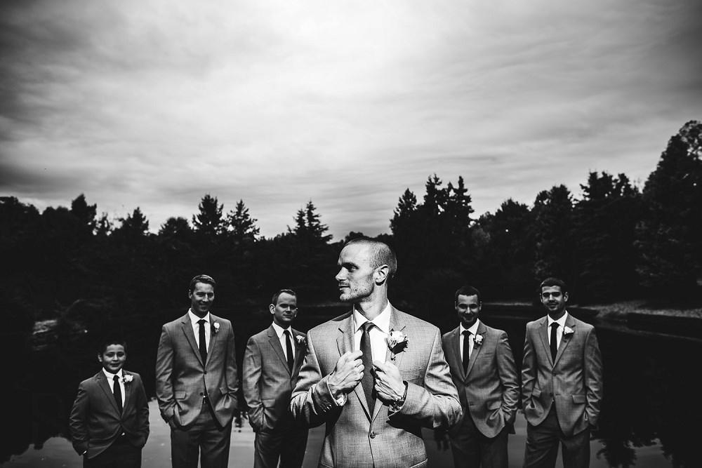 Creative Groom getting ready photos by raleigh wedding photographer dave shay
