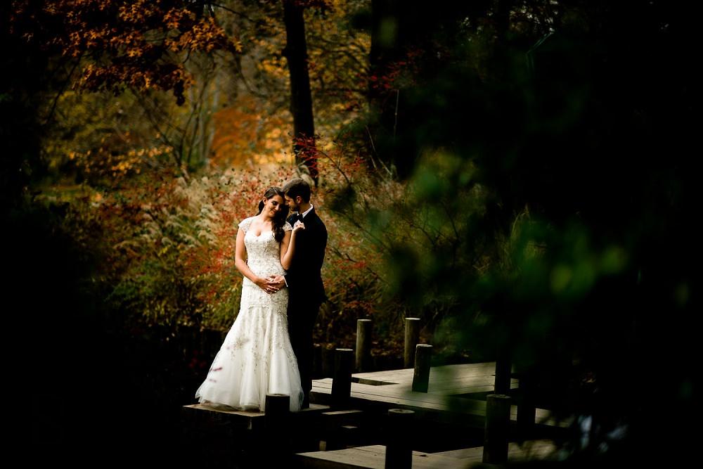duke gardens wedding photos