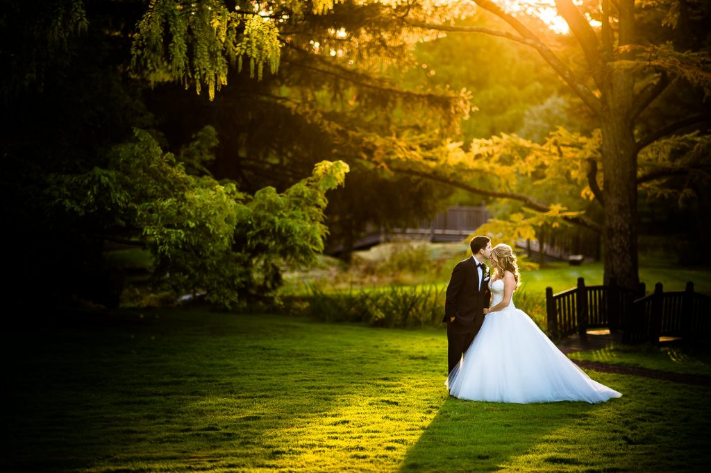 Natural light and airy wedding photo taken at pleasantdale chateau in New jersey