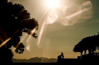 Biltmore estate wedding fine art silhouette