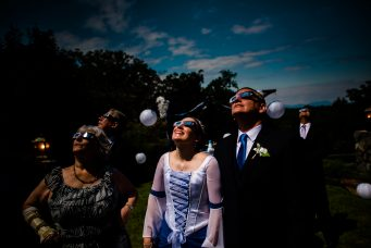 eclipse wedding glasses