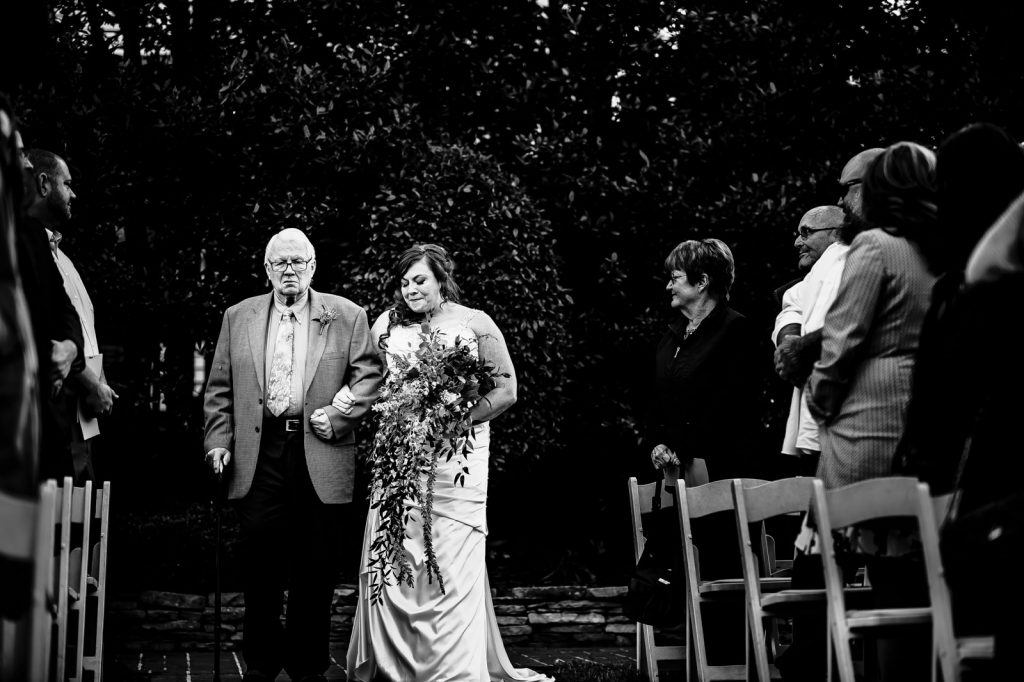 Wedding Ceremony at Preston Woodall House