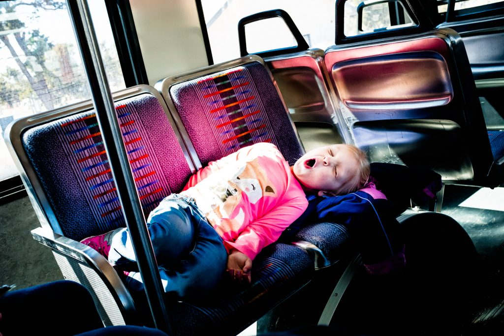 grand canyon bus ride for kids