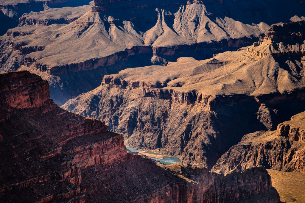 grand canyon at mohave point