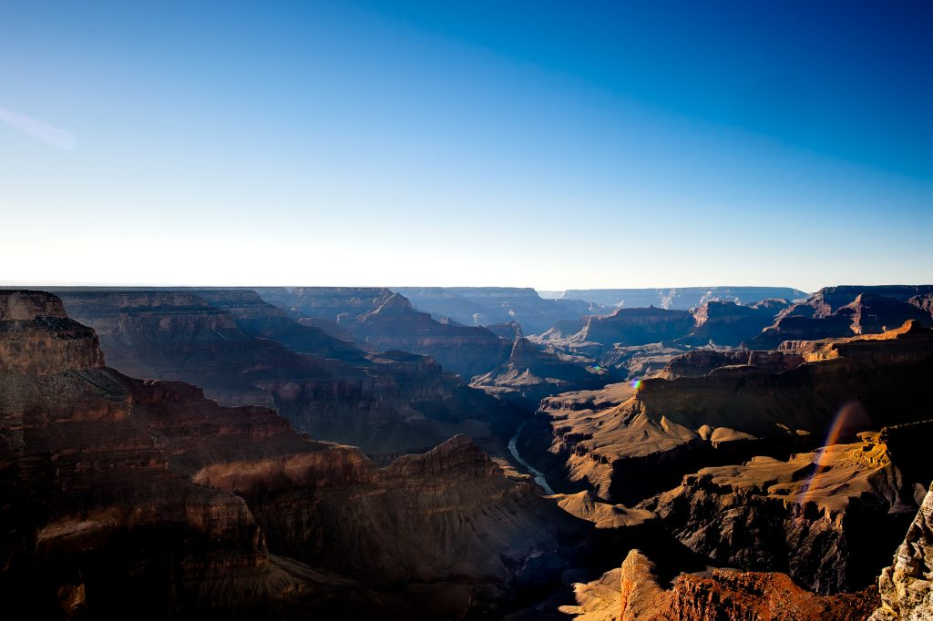 mohave point at the grand canyon