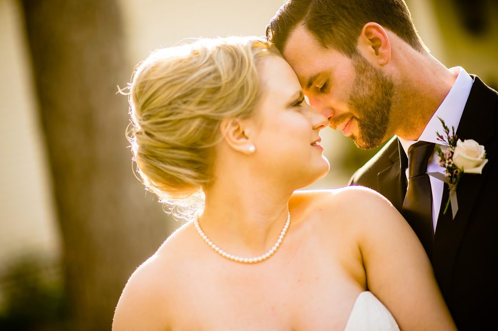 light and airy wedding portrait in chapel hill