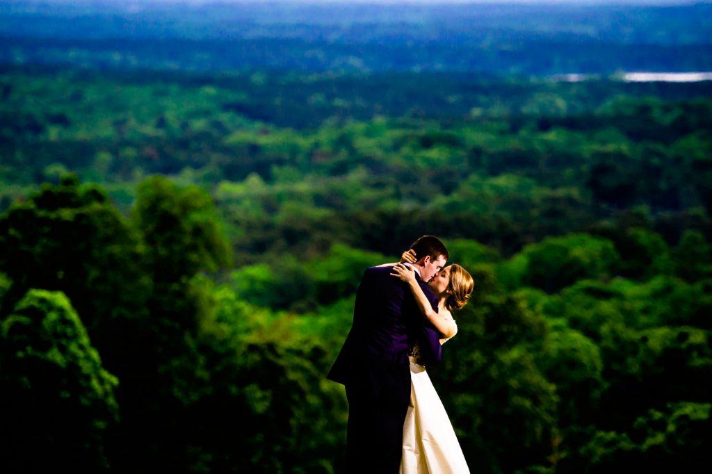MagBeam Wedding Photo on Mountain