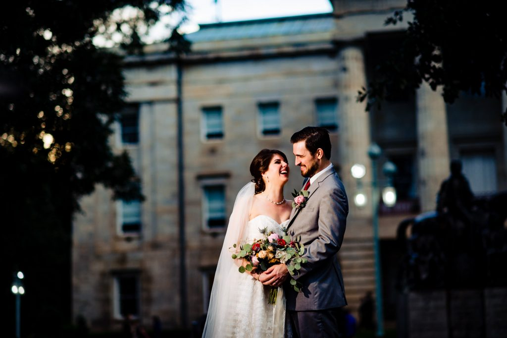 Raleigh Capitol Building Wedding