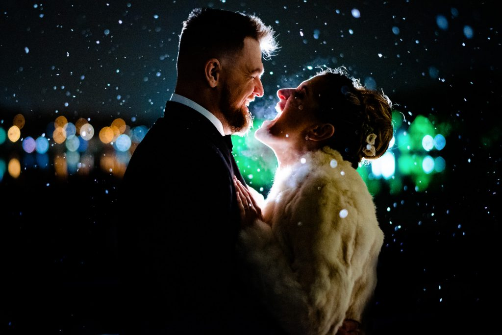 Philadelphia Eagles Winter Wedding