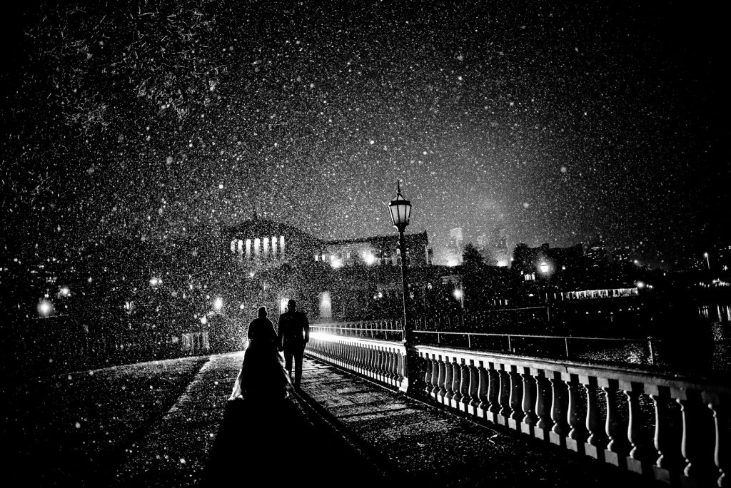 Philadelphia Winter Wedding