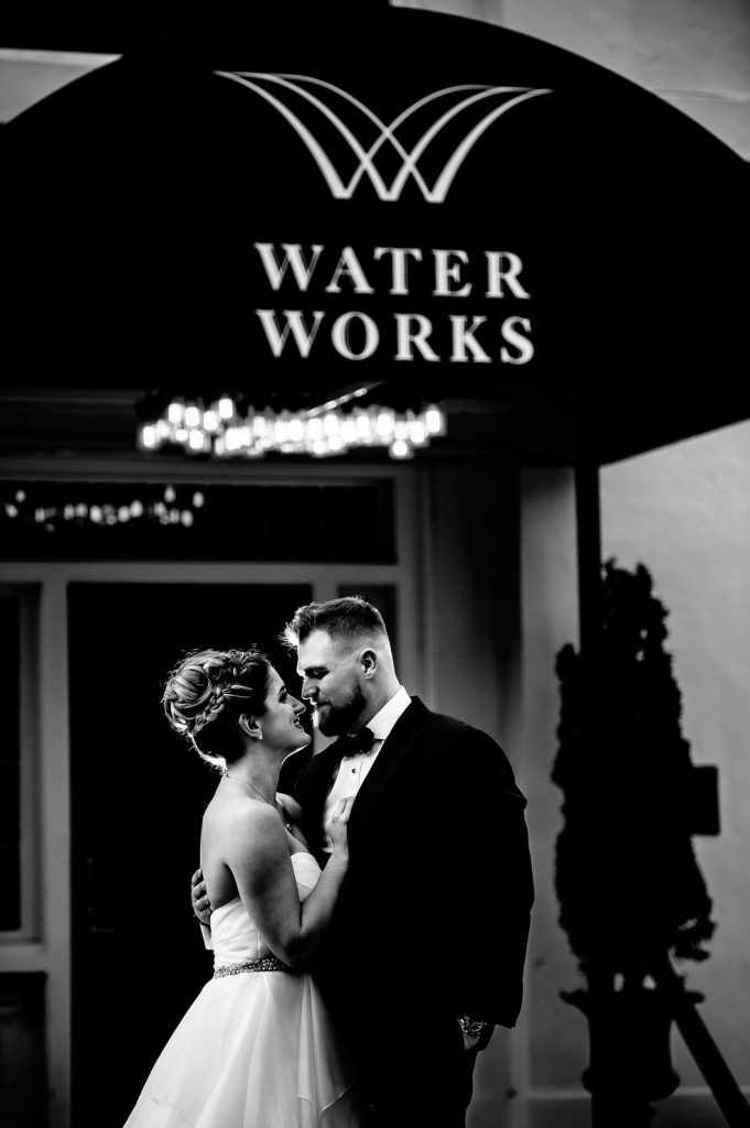 water works wedding
