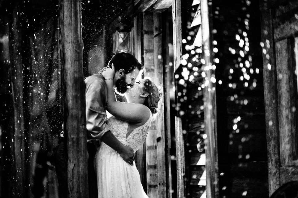 rainy wedding raleigh