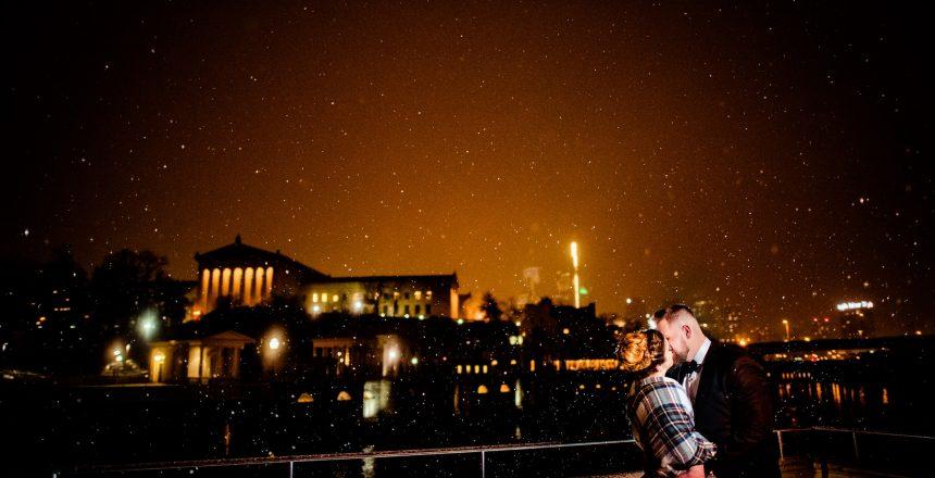 philadelphia snow wedding magmod